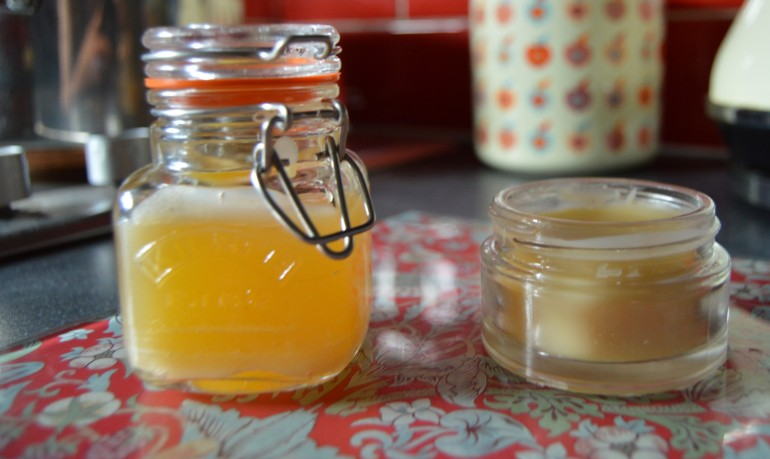 Balm cooling down