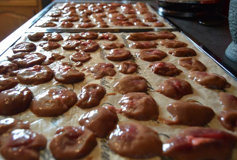 Kidney on trays