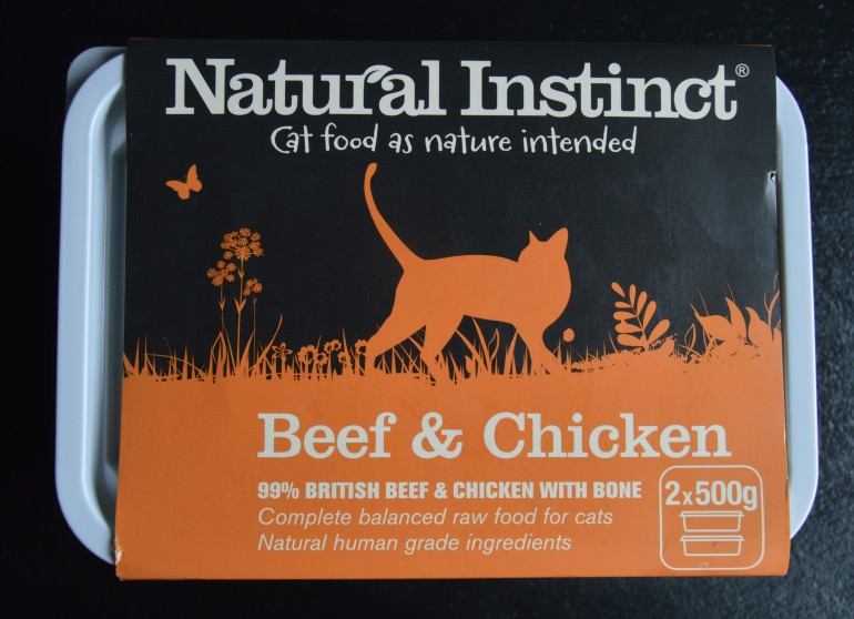 Natural Instinct in packaging