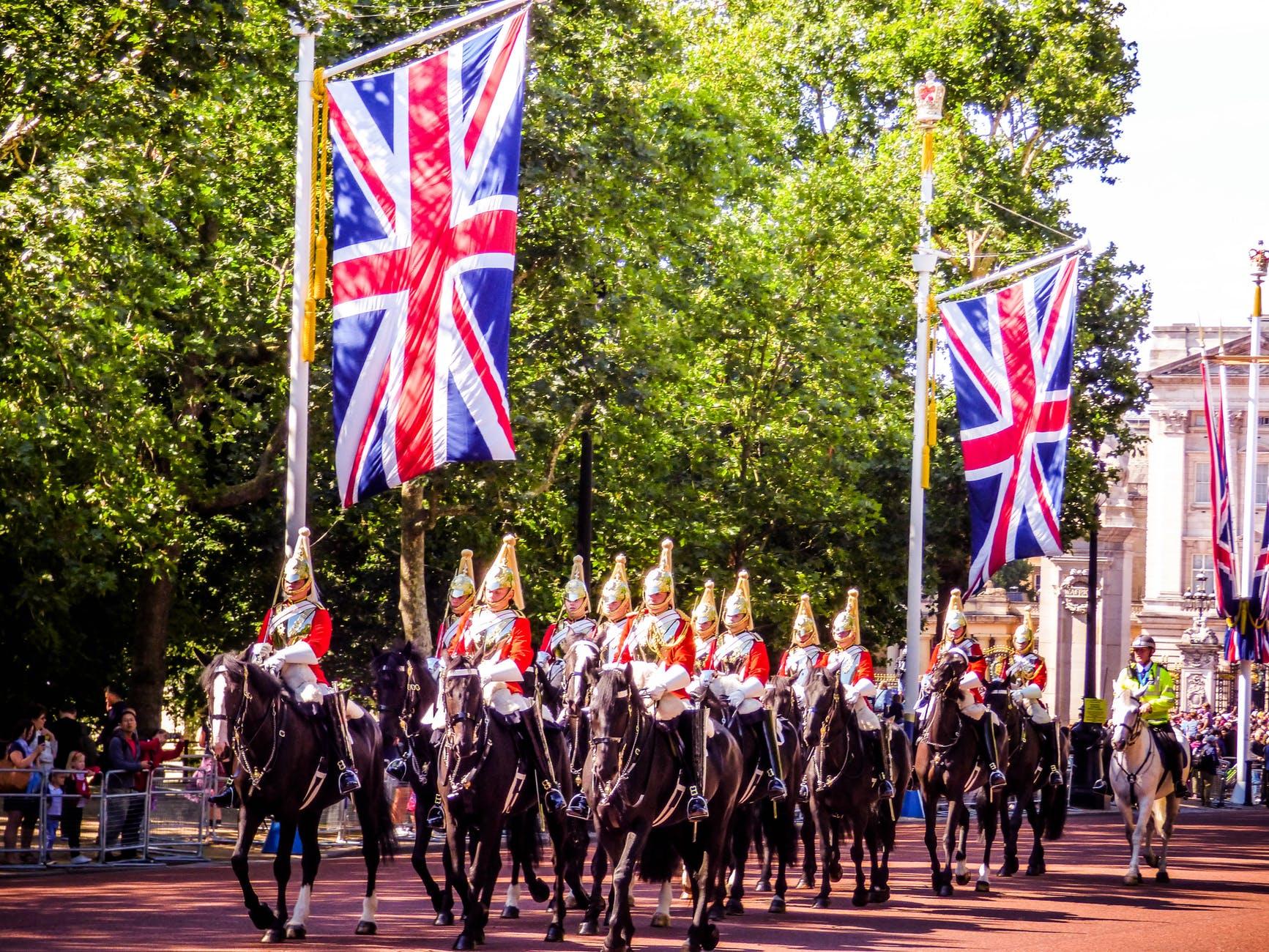 united kingdom marching band