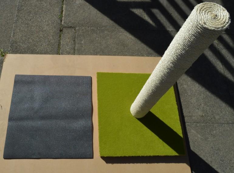 Yoga mat padding.